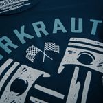 Sourkrauts T-Shirt David blau Bild 5