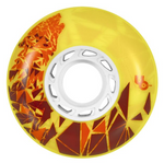 Undercover Wheels Wolf 72mm 86a yellow