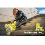 Powerslide Swell 110 Yellow Flash Fitness Inlineskates Bild 4