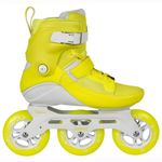 Powerslide Swell 110 Yellow Flash Fitness Inlineskates Bild 6