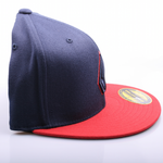 Volcom 2 Stone 210 Fitted Hat Red/Blue Bild 2