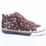 Kustom Schuhe Erica brown/polka *Ladys* Bild 2