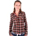 Vans Ladies YD Flannel chocolate Bild 1