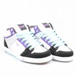 DVS Schuhe Gracie Mid white/silver Scale *Ladys*