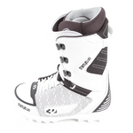 Thirtytwo Boots Lashed white/black