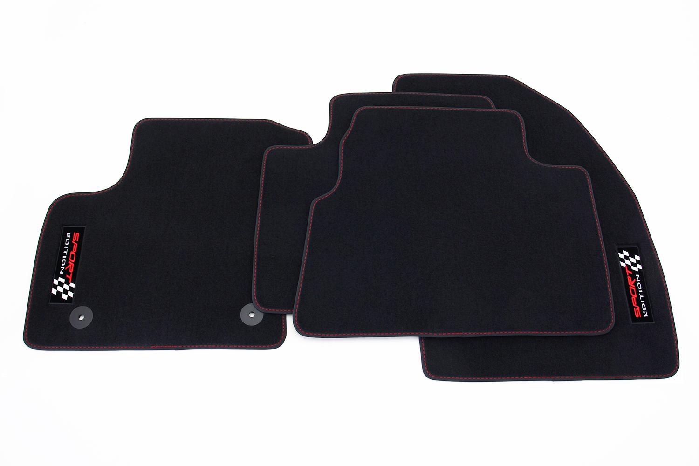 sport auto fu matten f r ford kuga ii ab bj 2013 2016 ebay. Black Bedroom Furniture Sets. Home Design Ideas