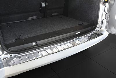 Edelstahl Ladekantenschutz für Peugeot Bipper ab Bj. 2008-