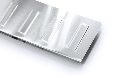 Protector de borde de carga de acero inoxidable para Peugeot Bipper Tepee año 2008-