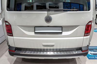 Acier Inox protection pare-choc adapté pour VW T6 et Multivan Facelift année 2015-