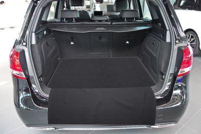 2-pezzi mat bagagliaio con protezione paraurti adatto per Mercedes B- Classe W246