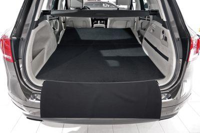 3-pieza estera del tronco con protección de parachoques para Mercedes GLE W166 año 2011-