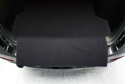 2-part trunk mat with bumper protection fits for BMW 3 F31 Touring 2011-