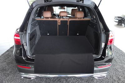 2-part trunk mat with bumper protection fits for Mercedes GLC Typ X253 2015-