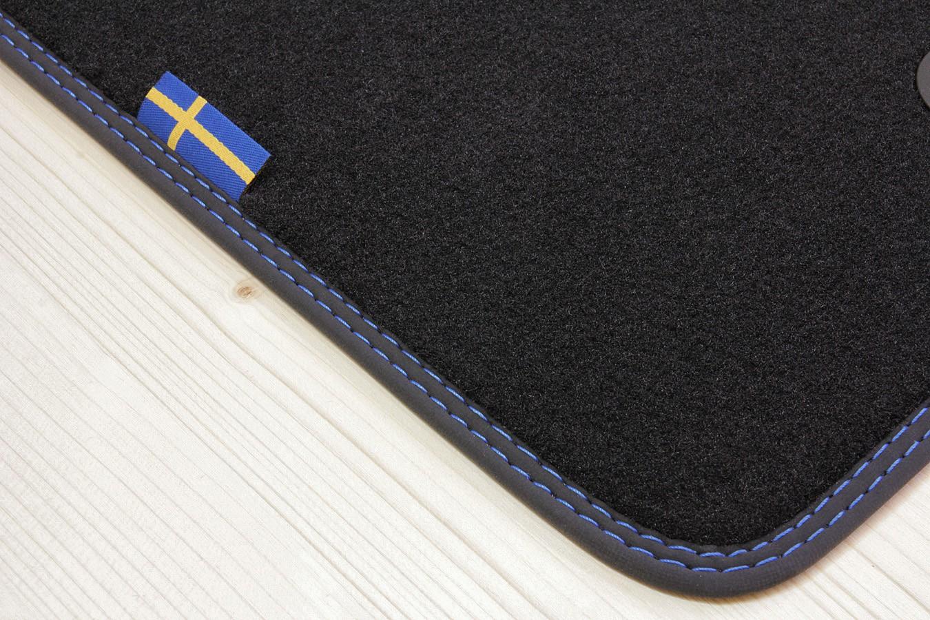 Tappetini in Svezia-design per Volvo v40 dal anno 05//2012