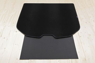 2-part trunk mat with bumper protection fits for Volvo V60 2010-
