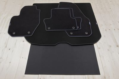 Design floor mats and trunk mat fits for Volvo XC60 11/2008-06/2017 [L.H.D. ONLY!]
