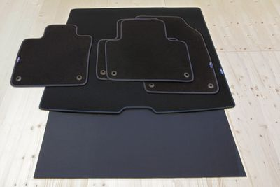 Design floor mats and trunk mat fits for Volvo XC90 01/2015- [L.H.D. ONLY!]