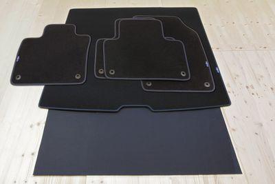 Schweden Design Fußmatten und Kofferraummatte für Volvo XC90 2. II