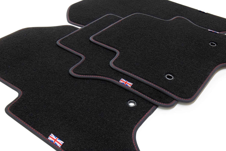 2008-02//2015 Exclusive Union Jack Fußmatten für Jaguar XF Bj