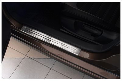 Exclusive placas de umbral Inoxidable para Skoda Superb III año 2015-
