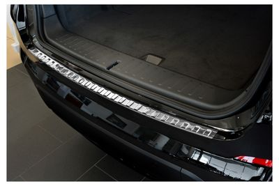 Inox protezione paraurti adatto per BMW X4 F26 anno 2014-02/2018