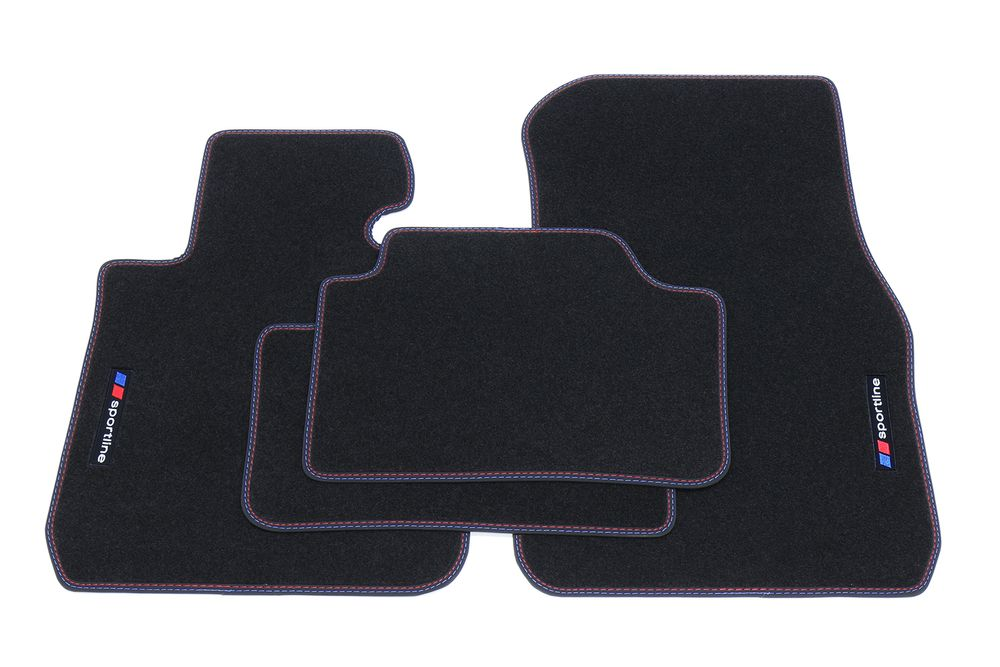 sportline tapis de sol adapt pour bmw s rie 1 f20 f21 ann e 2011 tapis de sol pour bmw sportline. Black Bedroom Furniture Sets. Home Design Ideas