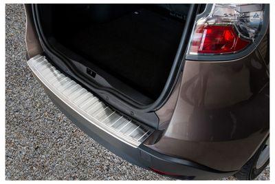 Protezione paraurti posteriore in acciaio inox adatto per Renault Scénic III anno 2009-2016