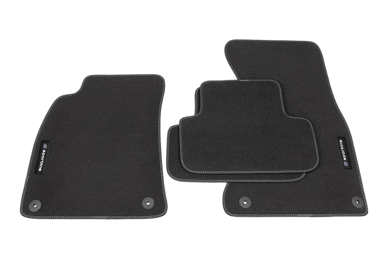 Sportline line design tapis de sol adapt pour audi s line a4 b8 8k ann e 2008 2015 tapis de sol for Tapis sol design