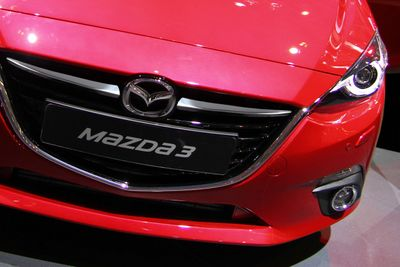 Stainless Steel Grill Bars fits for Mazda 3 MK III 2013-