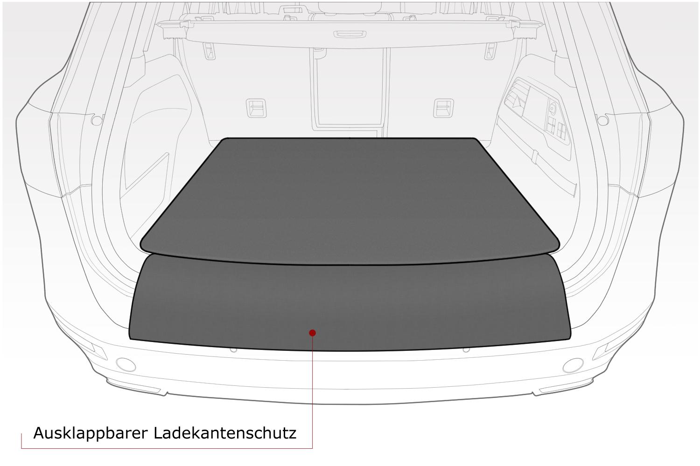 Kofferraumwanne für BMW 5er G31 M Sportpaket Touring Kombi 5-türer 2017 auch fü