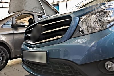 Stainless steel grill bars fits for Mercedes Citan W415 2012-