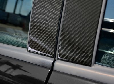 Carbon lining for the doors suitable for Mercedes A-Klasse W169 from 2008-2012