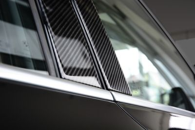 Carbon lining for the doors suitable for BMW X1 F48 from 2015-