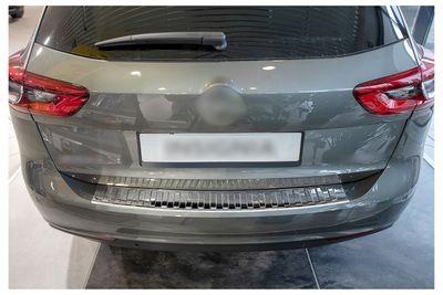 Protezione paraurti posteriore in acciaio inox adatto per Opel Insignia B Sports Tourer anno 2017-