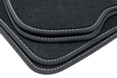 Exclusive floor mats fits for BMW 4er Cabrio F33 03/2014- L.H.D only