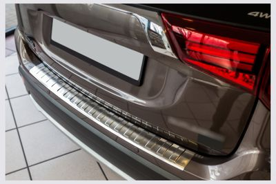 Bumper protector fits for Mitsubishi Outlander 3 III FL from 2015-