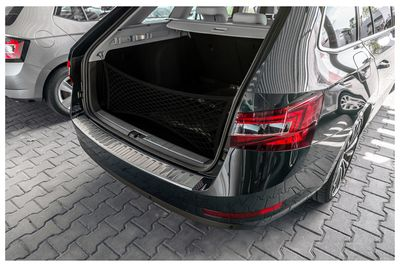 Bumper protector fits for Skoda Superb Estate MK 3 from 6/2015-04/2019
