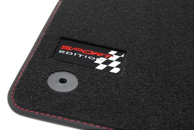 Sport Edition floor mats for Seat Ibiza III 6L 2002-2008 L.H.D only