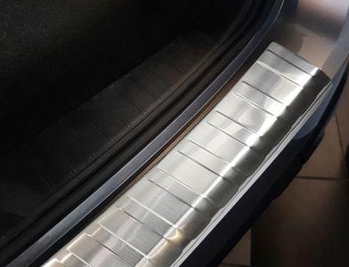 Protezione paraurti posteriore in acciaio inox adatto per Subaru Outback 5 V anno 2015-