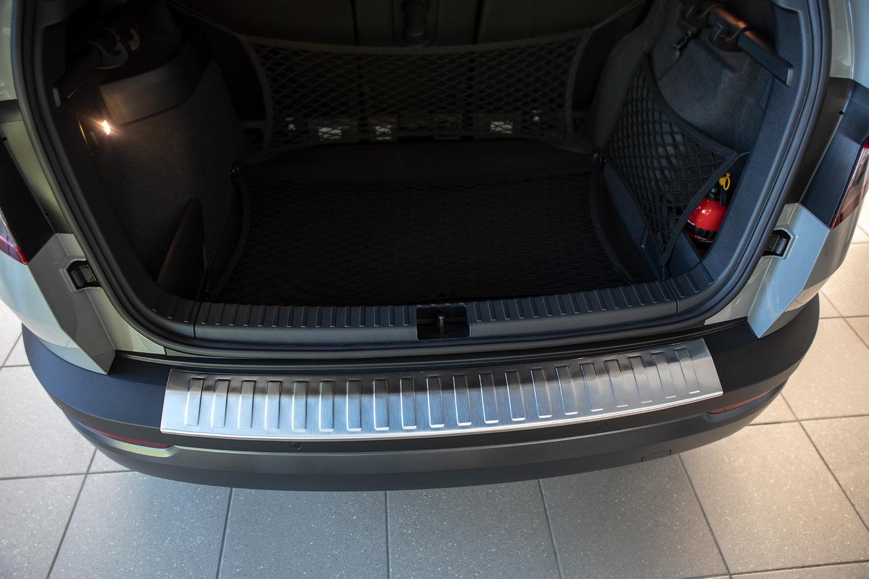 VW TOURAN 4 2015 Edelstahl Einstiegsleisten Abkantung Chrom Matt Schutz