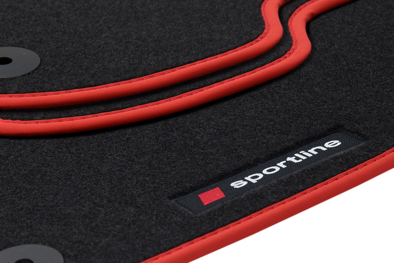 Sportline Fußmatten für Honda Civic 8 Bj. 2008-2011