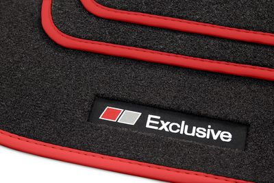 Exclusive Line floor mats fits for Fiat 500L from 2012- L.H.D only