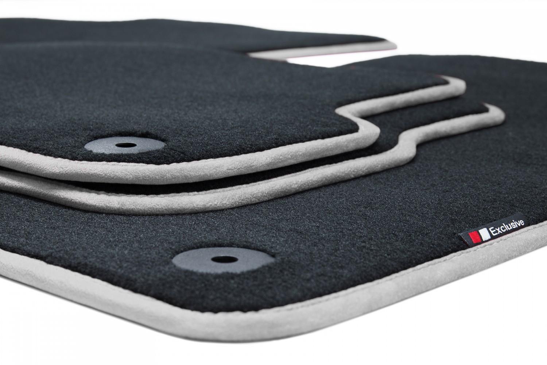 luxury line tapis de sol pour porsche 911 typ 997 ann e 2004 2012 tapis de sol pour porsche. Black Bedroom Furniture Sets. Home Design Ideas