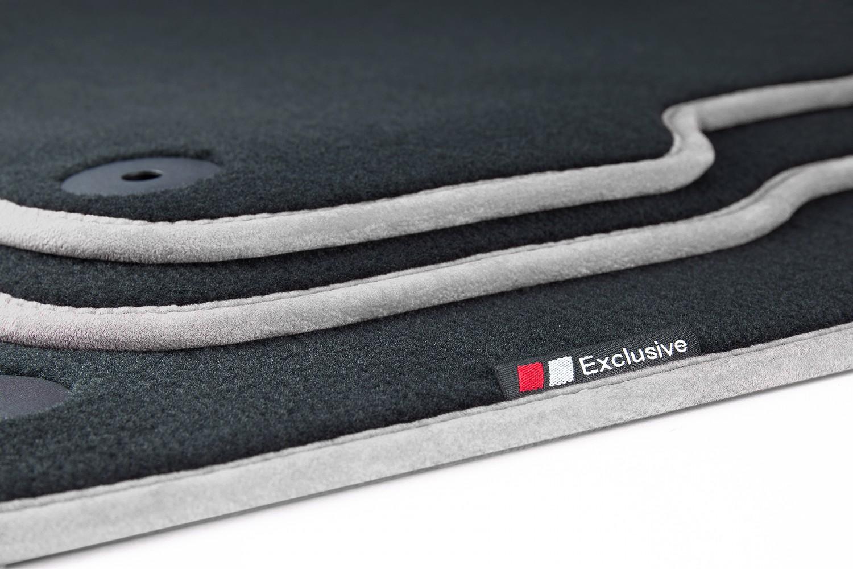 luxury line auto fussmatten f r porsche boxster typ 981 bj. Black Bedroom Furniture Sets. Home Design Ideas