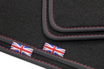 Exclusive Union Jack tapis de sol de voitures adapté pour Range Rover Sport I 2010-2013