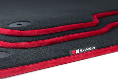 Luxury-line car foot mats fits for Audi A3 8V Sportback Sedan 2013- L.H.D only