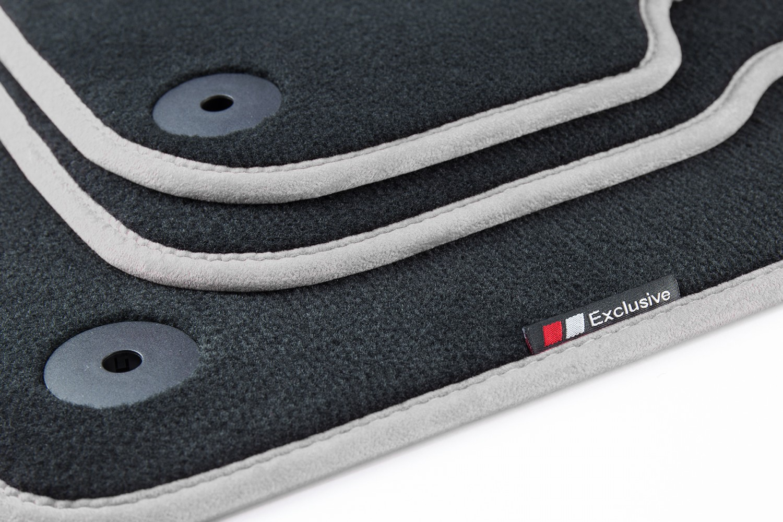 luxury line fussmatten f r vw golf 5 6 scirocco 3 limo. Black Bedroom Furniture Sets. Home Design Ideas