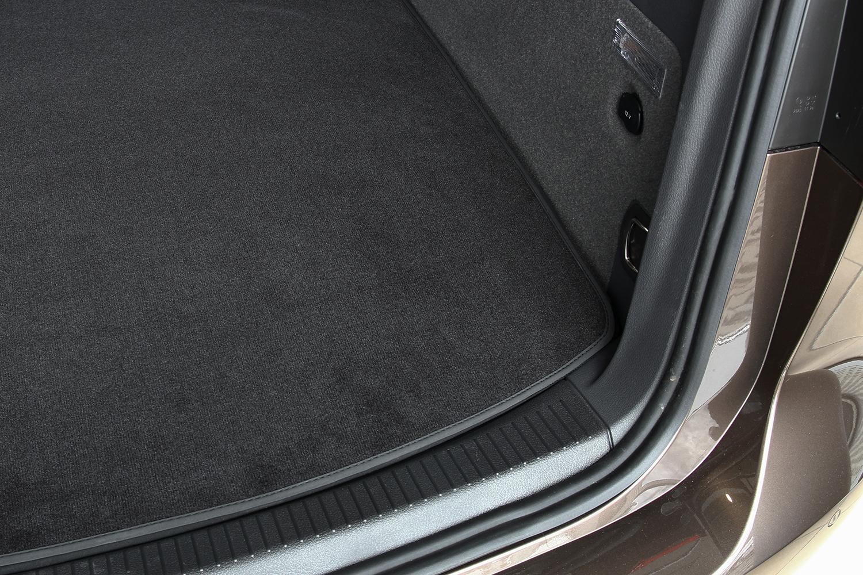 Kofferraummatte für BMW 3er F31 Touring ab Bj.2012 Doppelnaht Velours Fußmatte