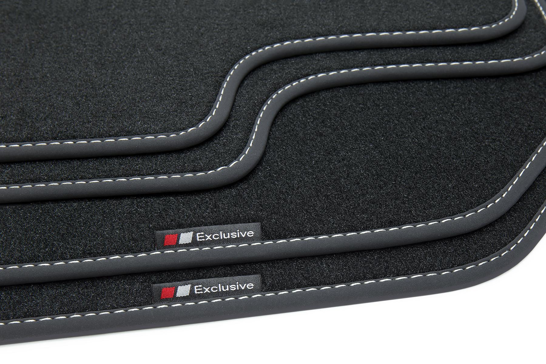 2005-2013 Exclusive Design Fußmatten für Renault Clio 3 Typ R ab Bj