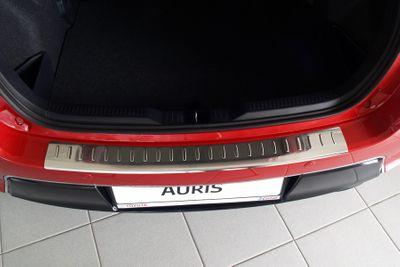 Edelstahl Ladekantenschutz für Toyota Auris 2 II Bj. 2013-2015